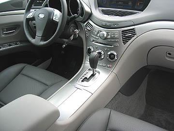 Tribeca Grayleather on 2006 Subaru Tribecca