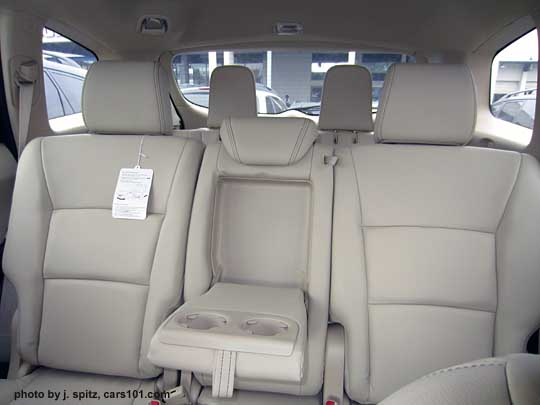 subaru forester interior 3rd row. the 3rd row folded flat subaru tribeca looking out back 2012 forester interior o