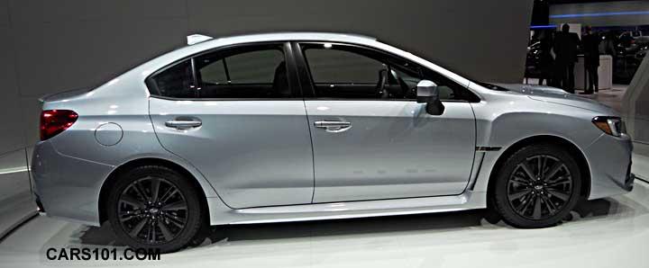 Subaru Wrx 2015 Silver