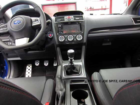 2015 Wrx Limited With Navigation Instrument Panel