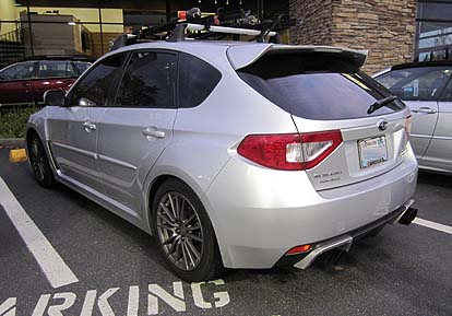 2013 And 2012 Subaru Wrx And Sti Options And Upgrade Photos