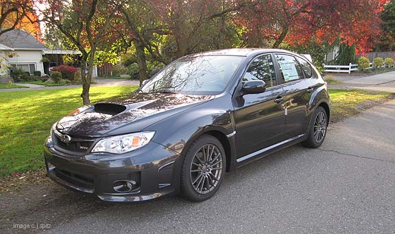 2013 and 2012 Subaru WRX photographs