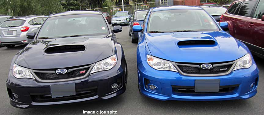 2014 Subaru Wrx And Sti Research Page Wrx Premium Limited And