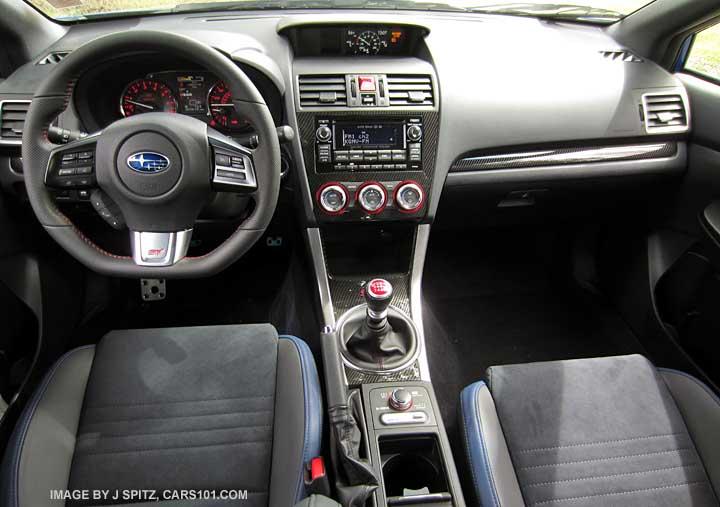 2015 Subaru STI interior photo page