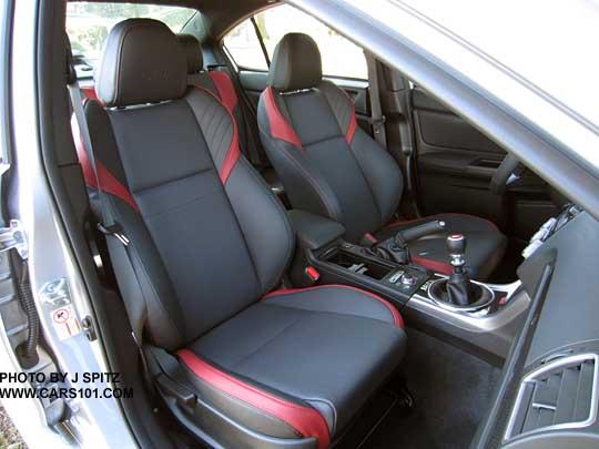 2015 Limited STI Front Passenger Seat
