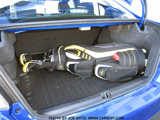 2017 2016 And Wrx Sti Trunk Easily Fits Golf Clubs