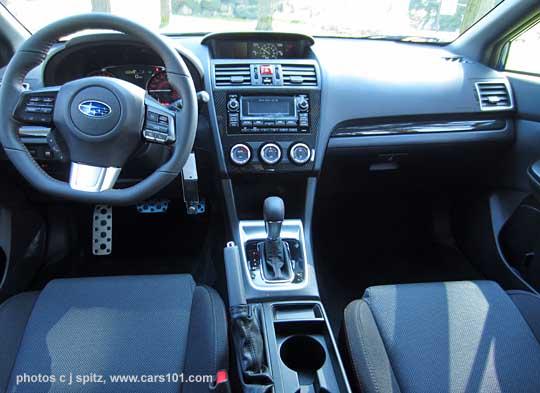 WRX CVT Interior