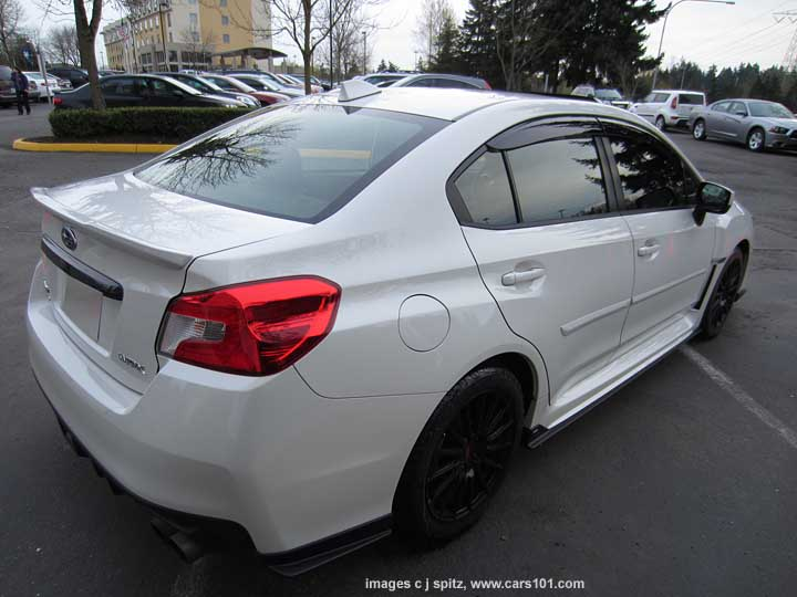 Options And Upgrades 2015 Subaru Wrx And Sti Research Website