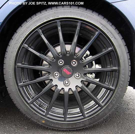 Tires Wheels 2016 Wrx Sport 18 Quot Sti Black Alloys Subaru
