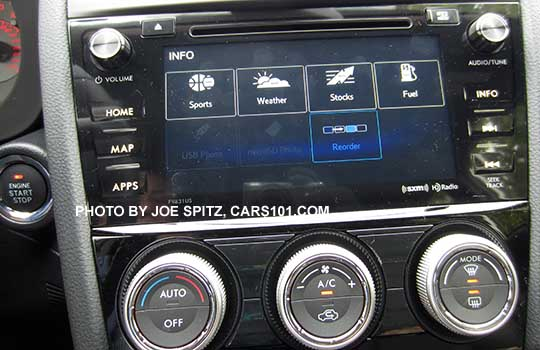 """2016 WRX and STI 6.2"""" and 7.0"""" LCD audio infotainment ..."""