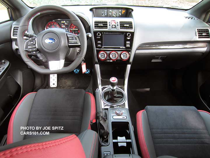 Superb 2016 Subaru WRX STI Interior Photo Page