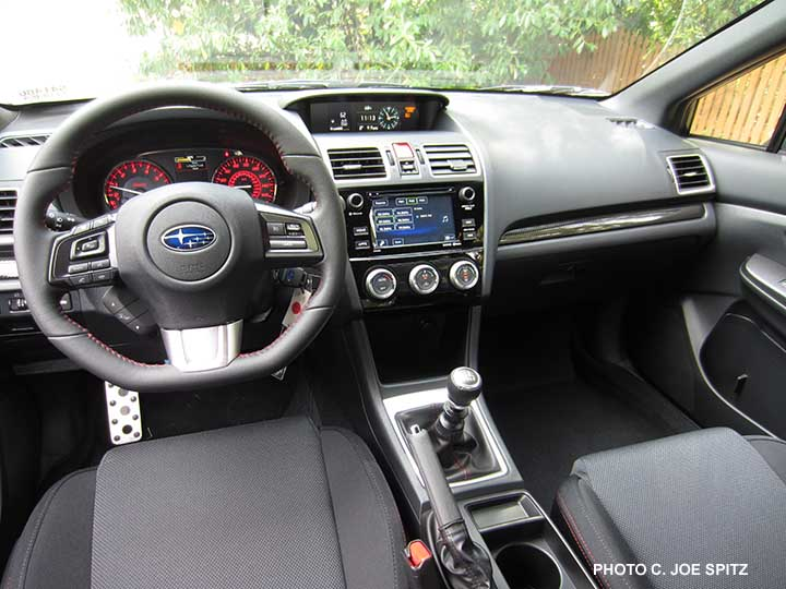 2016 Wrx Base Model Interior Standard 6 2 Audio