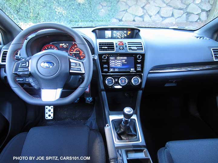 2016 WRX Limited Gray Leather Driveru0027s Seat