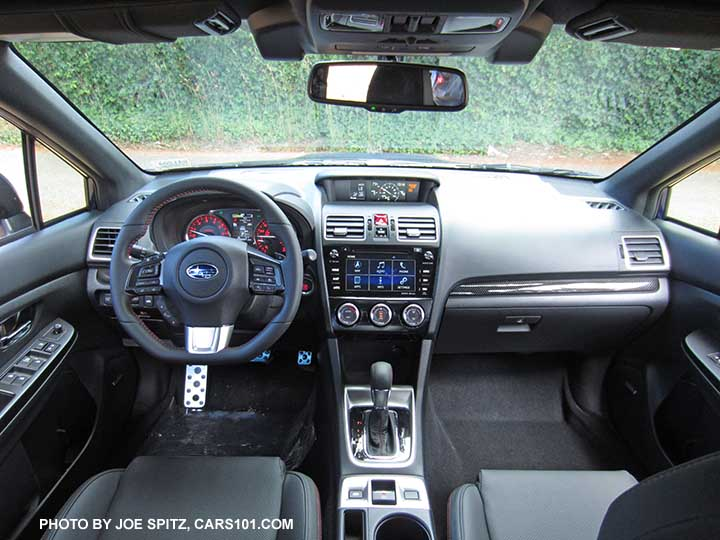 2016 Subaru WRX CVT Interior With Optional Eyesight System