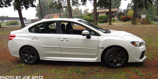 2016 Wrx Limited Crystal White With Optional Side Moldings