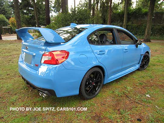 2016 Subaru Wrx And Sti Research Spec Page Options Photos Prices