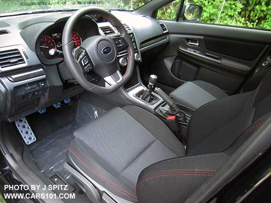 2017 Subaru Wrx Premium Interior Dashboard