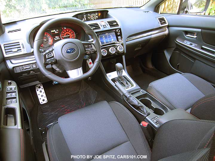 2017 Wrx Premium Cloth Interior With Cvt Automatic Tranmission