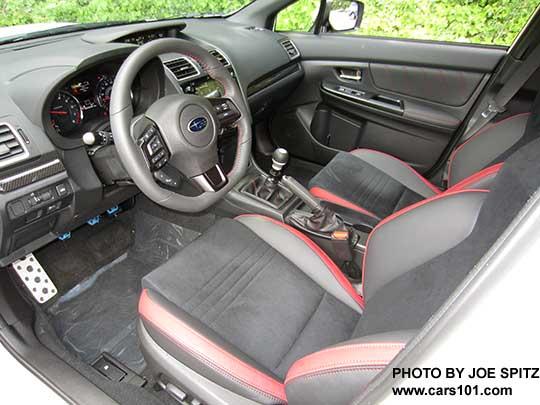 2018 Subaru Wrx Premium With Optional Performance Package 12 Including Recaro Front Seats Black