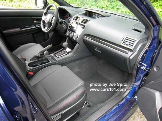2018 Subaru WRX and STI Interior photo research page