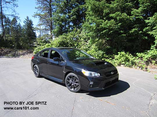 2018 subaru sti black. interesting subaru 2018 subaru wrx crystal black silica color shown on subaru sti w