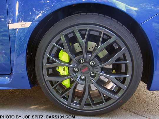 2019 Subaru WRX and STI research specs, options, photos
