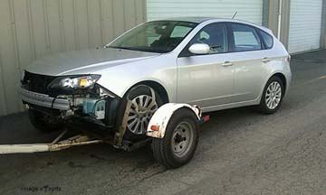 dont tow your subaru like this