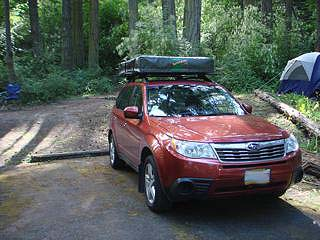 Roof Top Tent Fits A 2009 2013 Subaru Forester