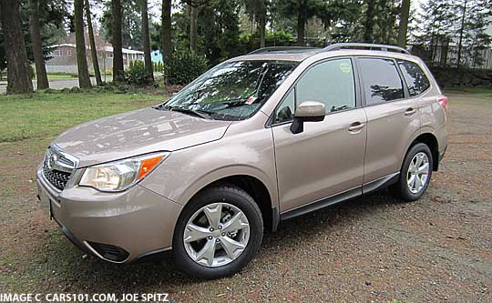 2017 Forester Burnished Bronze Color
