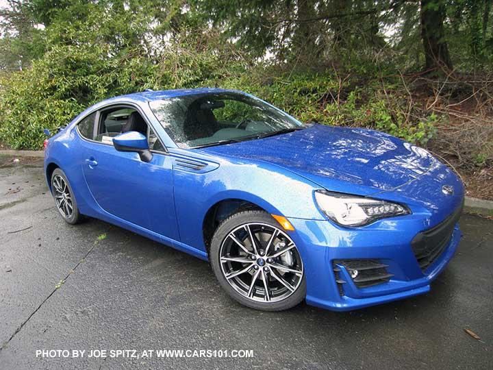 2017 Subaru Brz Limited Wr Blue Color