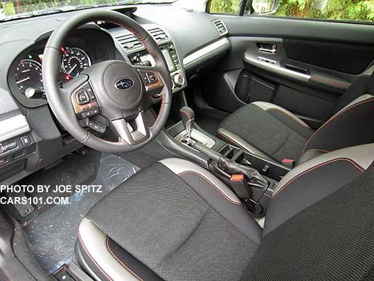 2016 Subaru Crosstrek Premium Cvt With Silver Dash Trim And Shift Surround Black Cloth