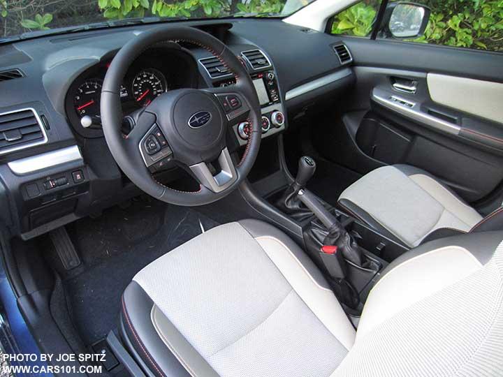 2017 Subaru Crosstrek Ivory Interior