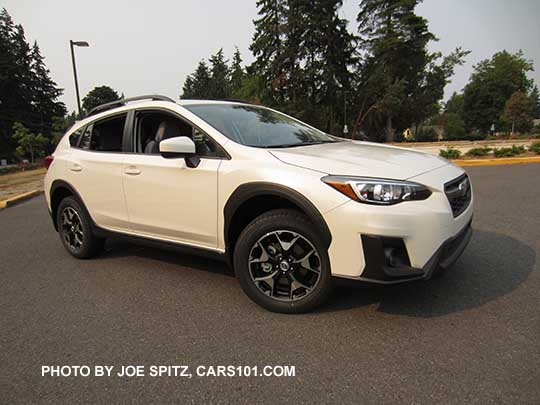2018 Subaru Crosstrek Premium With Body Color Outside Mirrors 17 Alloys Wheels Crystal