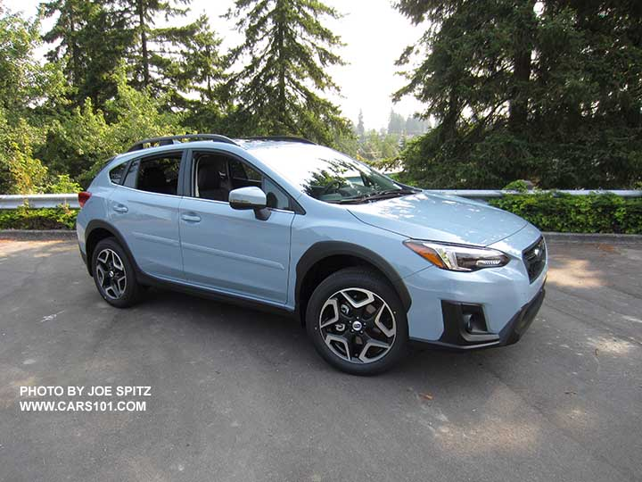 2018 Subaru Crosstrek Limited Cool Gray Khaki Color This Changes Depending On Sunlight