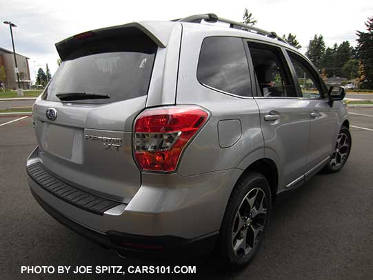 2016 Subaru Forester 2 0xt Touring Rear View Ice Silver Shown