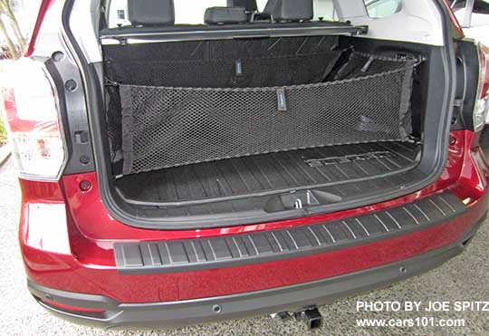 2018 And 2017 Subaru Forester Optional Cargo Nets By Seatback Gate