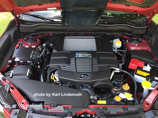 2017 Subaru Forester 2 0xt Turbo Engine Photo By Karl Lindemuth At Van Bortel