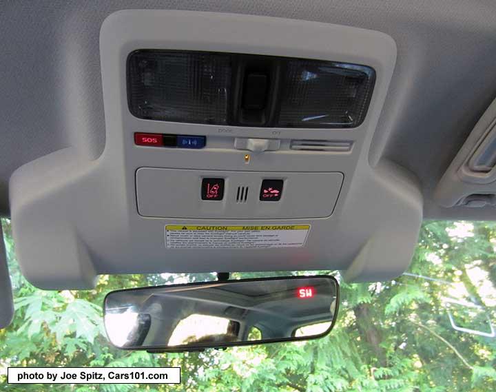 2018 And 2017 Subaru Forester Interior