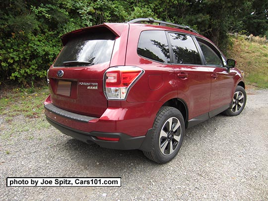 2017 Subaru Forester 2 5 Premium With Dark Rear Gl And Redesigned 17 Black