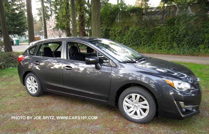 Dark Gray 2017 Subaru Impreza 2 0i 5 Door Hatchback