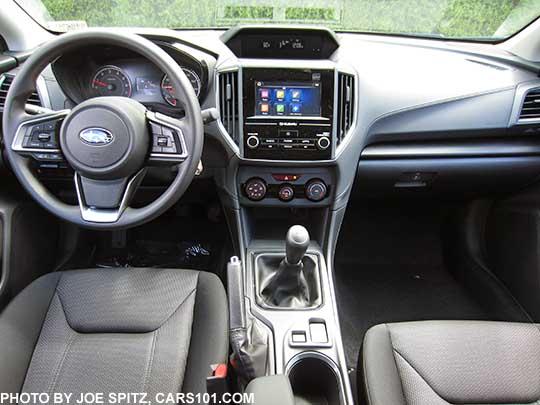 2017 Subaru Impreza 2 0i Base Model Interior And Dash Manual Transmission