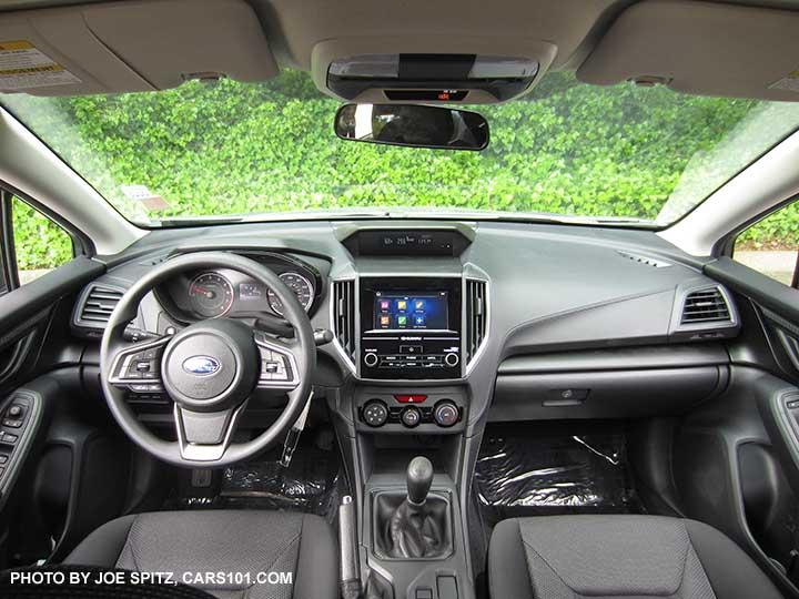 2017 Subaru Impreza 2 0i Interior 6 5 Audio Manual Sd Transmission