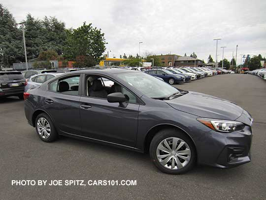 2017 Subaru Impreza 2 0i Sedan Carbide Gray Color Shown