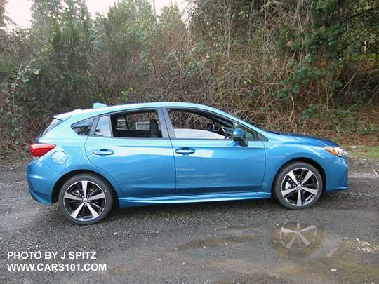 2018 Impreza Subaru Specs Options