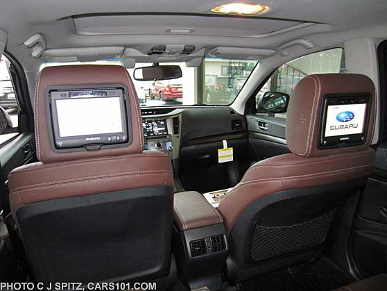 Subaru Outback With Optional Headrest Dvd Players For Back Seat Pengers
