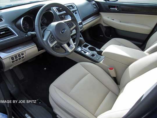 Interior Of Subaru Outback