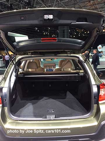 2018 Subaru Outback Tailgate And Cargo Area