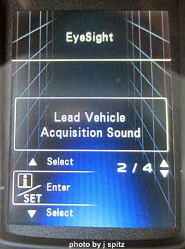 Subaru Eyesight Video >> Subaru dashboards, warning lights, eyesight, cruise ...