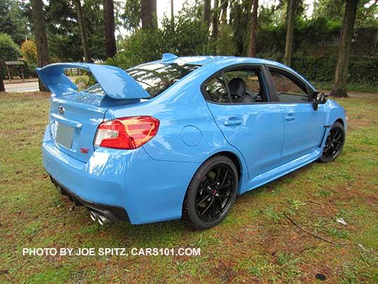 2016 Subaru Wrx Sti Series Hyperblue